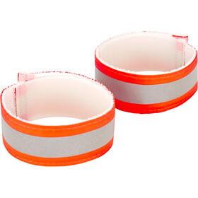 Nathan Anklebands Pair Hi-Viz Orange